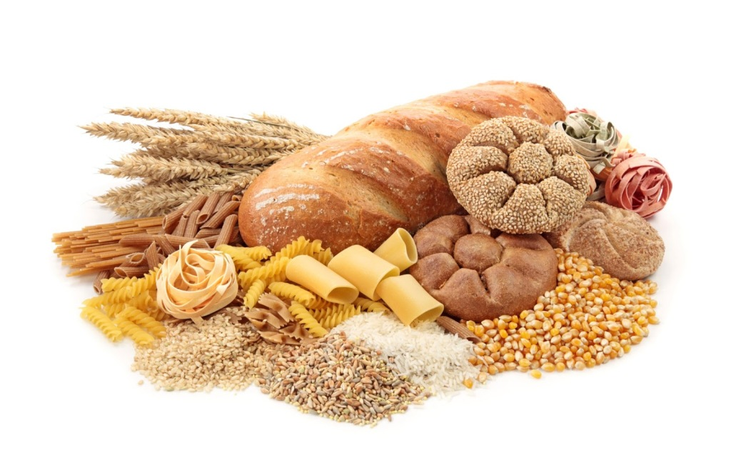 Foods high in carbohydrate